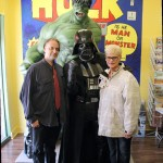 JStew, Vader and JStew's mom