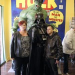 Suzy and Mike from Doin' It Geek with Vader