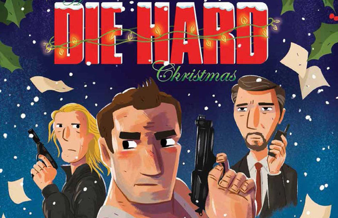 A-Die-Hard-Christmas-The-Illustrated-Holiday-Classic