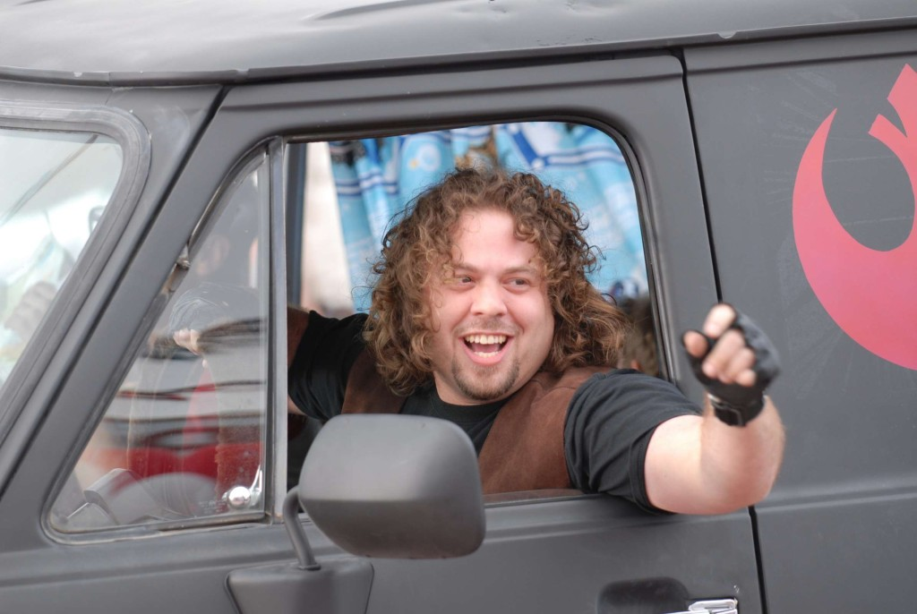 Dan Fogler stars as Hutch in Kyle Newman's FANBOYS.